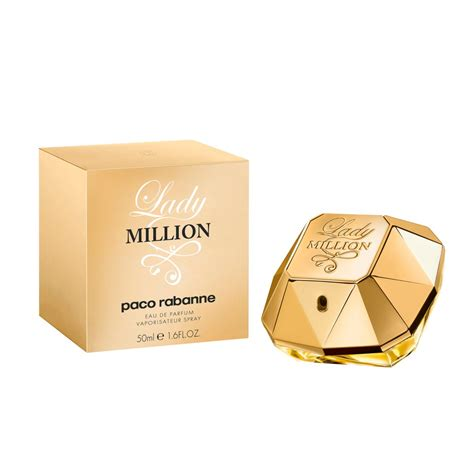 paco rabanne lady million eau de parfum ml
