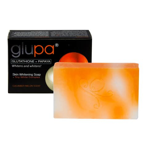 Lightening Soap by Glupa Lightening Soap With Glutathione Papaya Plus