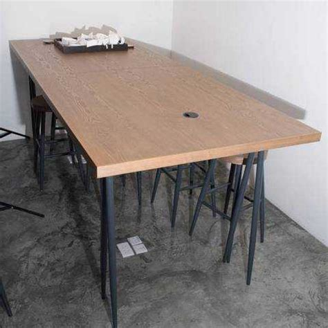 Second Bar Stools For Sale by Wooden High Table With 8 Bar Stools For Sale In Hong Kong