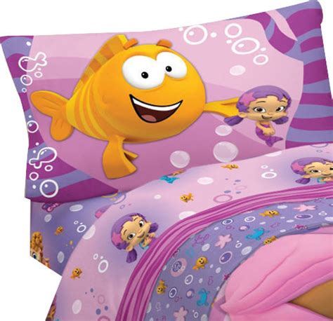 bubble guppies bed bubble guppies fun 3 piece twin single bed sheet set contemporary kids bedding