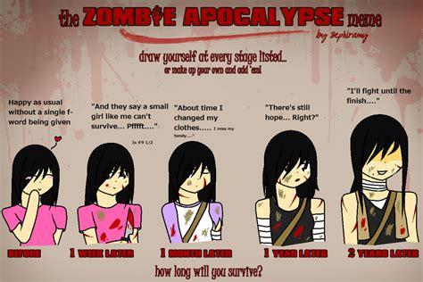 Zombie Meme - funny zombie apocalypse meme
