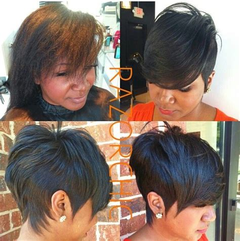 razor chic of atlanta hairstyles razor chic of atlanta fab hair pinterest short pixie
