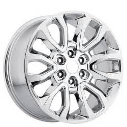 Ford Truck Chrome Wheels 20 Quot Ford F150 Raptor Wheels Chrome Oem Replica Rims Oem095 1