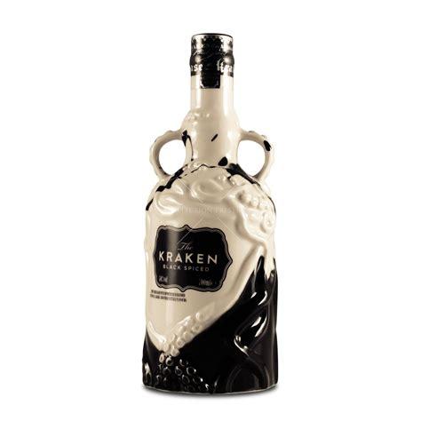 the kraken limited edition ceramic black the kraken black spiced rum limited black white ceramic