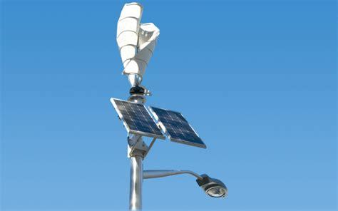 solar street lights usa ecopole the wind and solar combo for street lights eco