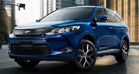 toyota harrier 2016 interior toyota harrier premium style ash editions for