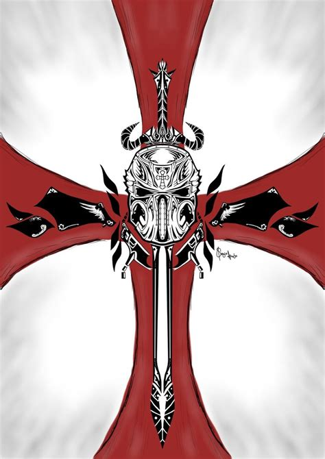 crusader tattoo designs crusader by dags88crusader on deviantart