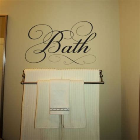 bathroom wall art sayings 27 best images about bathroom decor on pinterest vinyls