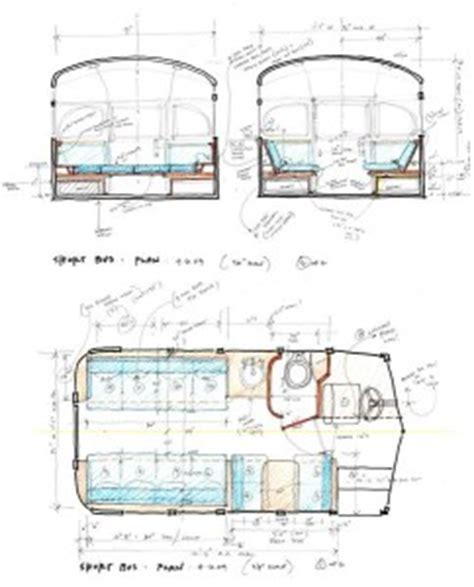school bus rv floor plans school bus conversion and other brilliant rv conversion ideas