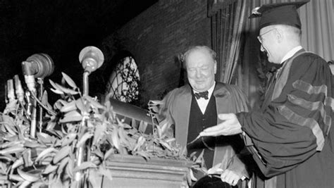 what was the iron curtain speech about churchill delivers iron curtain speech mar 05 1946