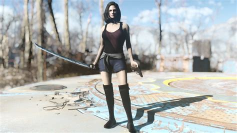 V0 Dress Fantasi simply clothes for for fo4 mod