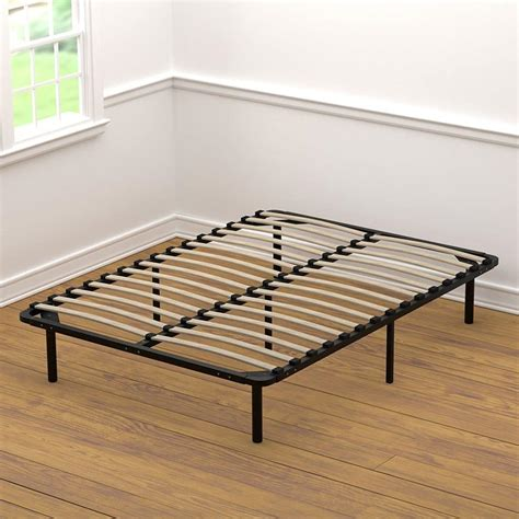 wood slat bed frame handy living wood slat bed frame bedroom furnitures reviews