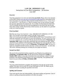 best photos of case brief format example sample case