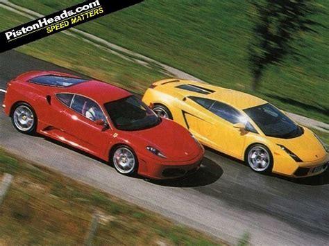 F430 Vs Lamborghini Gallardo F430 Vs Gallardo Foes Reunited Pistonheads