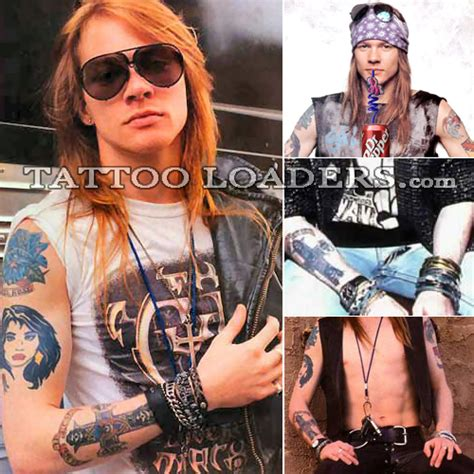 axle rose tattoos gudu ngiseng axl tattoos