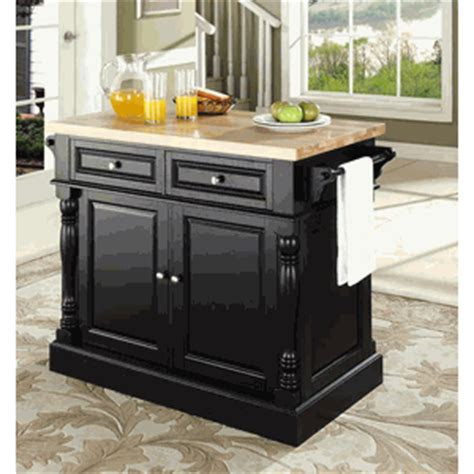 Butcher Kitchen Island Butcher Block Kitchen Island By Crosley Furniture
