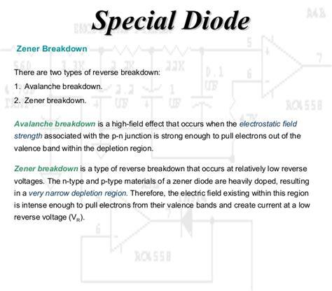 zener diode principle zener diode working principle 28 images working principle diode and special diode the zener