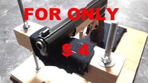 diy bench rest shooting stand rest diy bench homemade gun pistol handgun rifle youtube