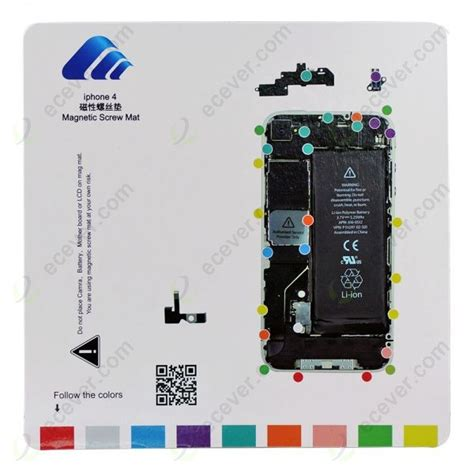 iphone 4 magnetic mat magnetic mat chart for iphone 4