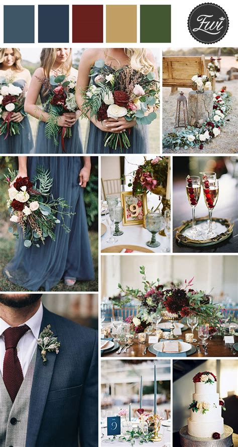 wedding colour themes autumn and winter weddings 50 refined burgundy and marsala wedding color ideas for
