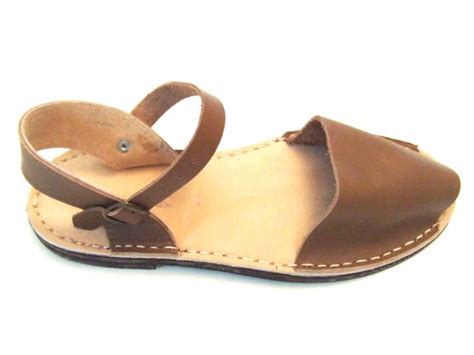 Sandal Sancu Cheese Kid Size 3638 s leather frailera menorcan sandals