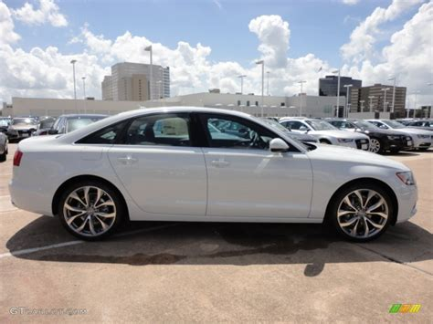 white audi sedan glacier white metallic 2013 audi a6 2 0t quattro sedan