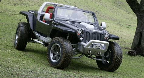 jeep hurricane jeep hurricane concept 4x4 with two hemi engines cars