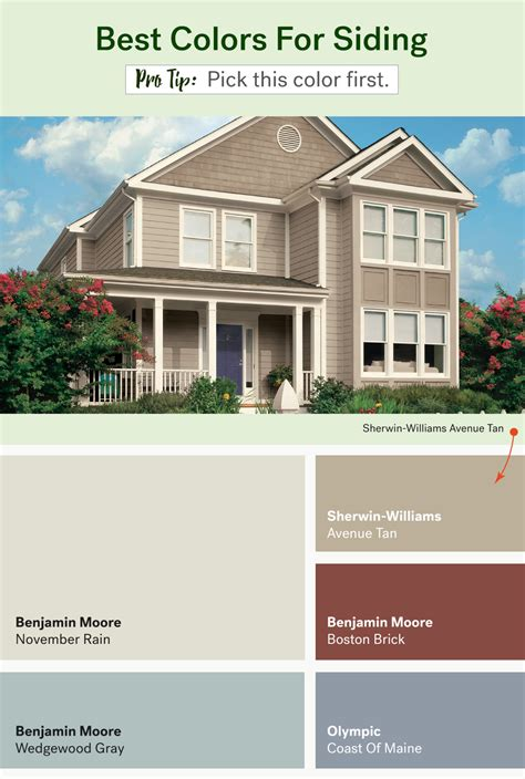 popular exterior paint colors huffpost life