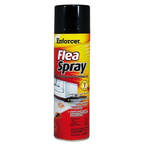 enforcer 14 oz flea spray for carpets and furniture