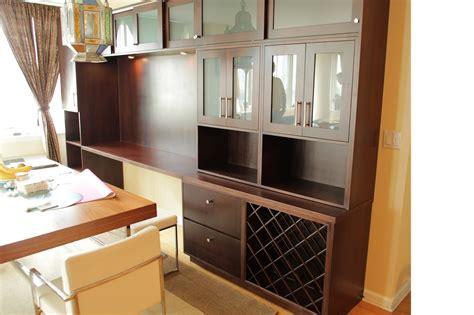 built in dining room hutch handmade contemporary post modern dinning room built in