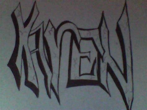 imagenes de letras goticas que digan karen graffitis con el nombre de karen imagui