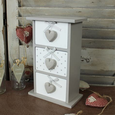 small 3 drawer storage chest small taupe grey wooden 3 drawer trinket makeup storage