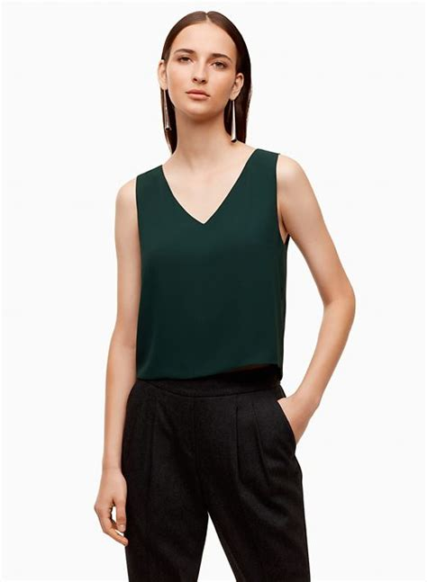 Quillan Blouse clothing brands aritzia