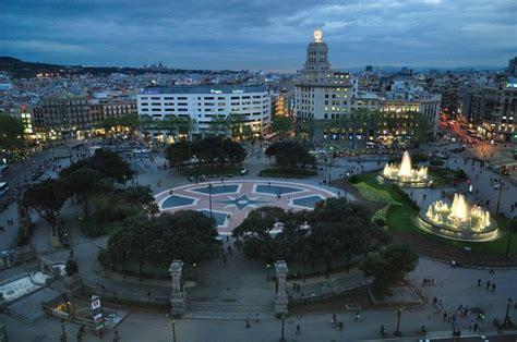 barcelona catalunya pla 231 a catalunya the main square in barcelona