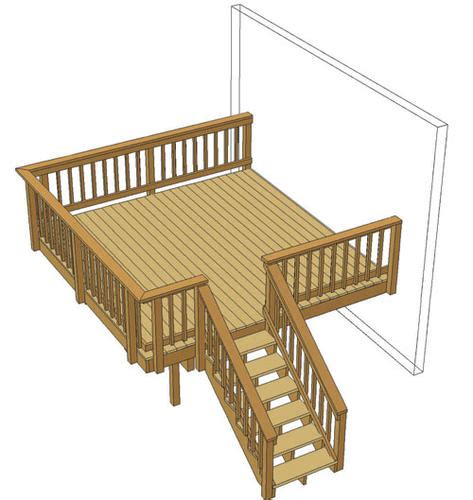 Aidaprima Deckplan 12 by 12 X 12 Single Level Deck