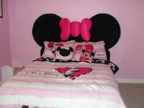 Minnie Mouse Headboard by Mickey Mouse Themed Kids Room Designs And Furniture