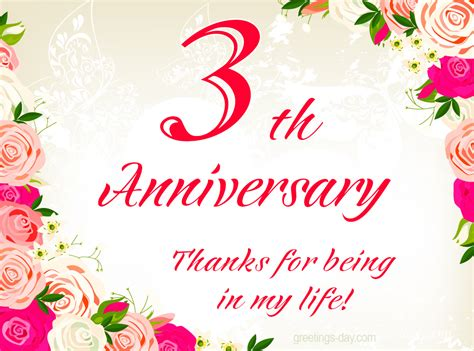 Wedding Anniversary Year by 3 Year Wedding Anniversary Www Pixshark Images