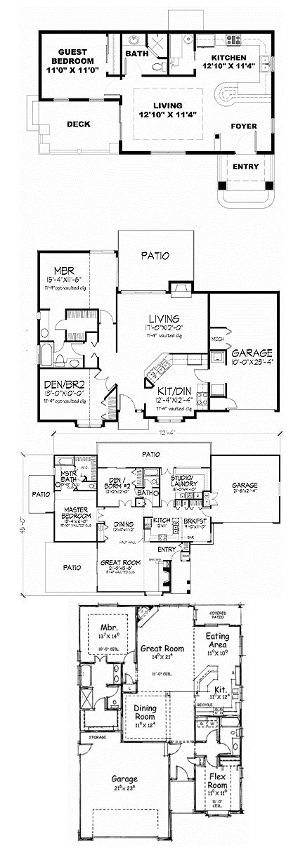 small and simple house plans simple small house floor plans