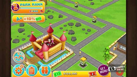 theme park video game theme park iphone game preview youtube