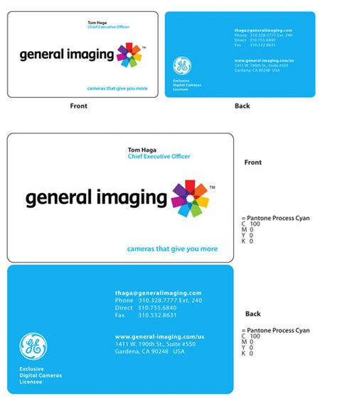 ge business card template ge business card images business card template