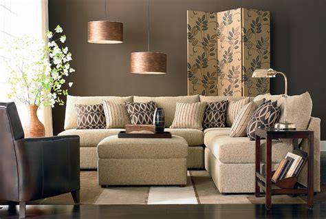 bassett living room furniture beckham l shaped sectional by bassett furniture