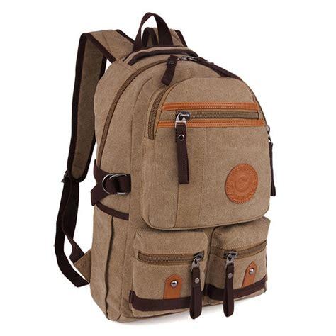 Tas Wanita Handbag Casual Canvas Donker canvas backpack 15 inch vintage casual waterproof laptop bag for newchic