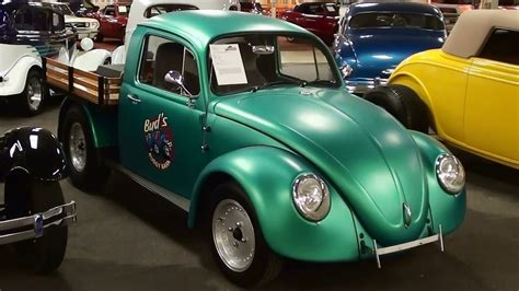 volkswagen bug truck 1974 vw beetle custom truck youtube