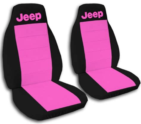 Pink Jeep Wrangler Seat Covers 1990 Jeep Wrangler Yj Seat Covers One Front Set Of Seat