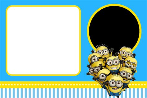 minion greeting card template how to select the minion invitations free