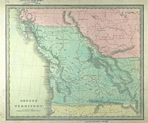 map of oregon territory kis ushistory oregon territory