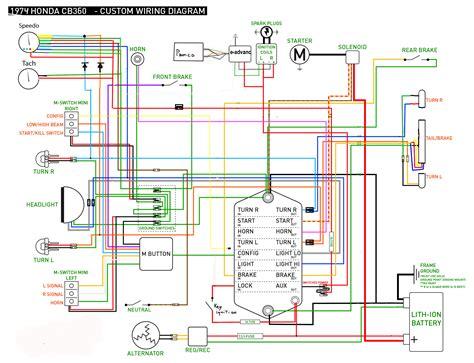 honda helix cn250 wiring diagram honda spree wiring