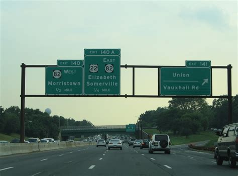 Garden State Parkway South by New Jersey Aaroads Garden State Parkway South Newark