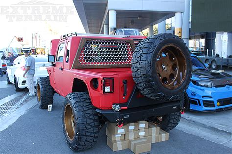 jeep with truck bed the 5 most modified wranglers of sema 2014