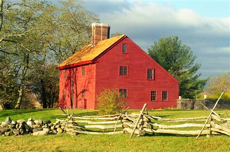 new england saltbox house witchcraft
